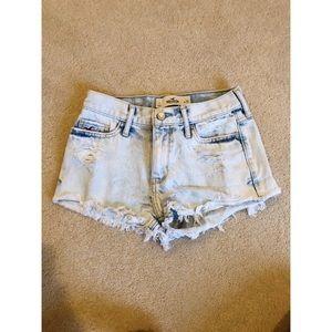 Hollister Hi-rise Jean Shorts